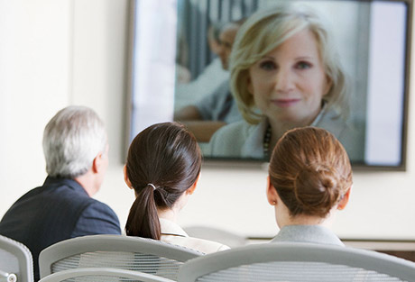 Image of a videoconference